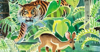 Dongeng Anak Si Kancil Cerdik Harimau