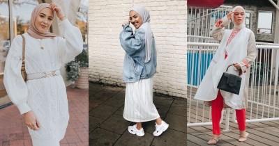 Ini 5 Inspirasi OOTD Hijab Bernuansa Putih agar Tampil Lebih Stylish