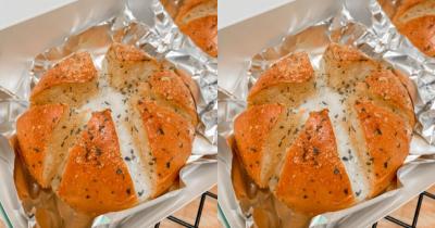 Mudah Dibuat, Ini Resep Korean Cheese Garlic Bread Sedang Viral