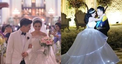 7 Potret Pernikahan Mewah Artis Indonesia Ini Layak Jadi Dream Wedding