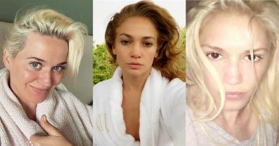 Dari J-Lo sampai Adele Pamer Selfie Tanpa Makeup Media Sosial