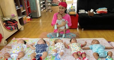 Monica Soraya, Crazy Rich yang Adopsi Banyak Bayi di Video Baim Wong