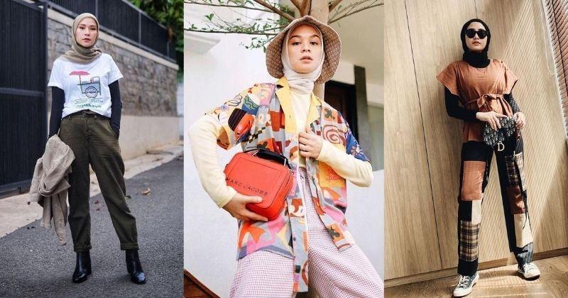 7 Inspirasi Memakai Baju Lengan Pendek Untuk Berhijab Popmama Com