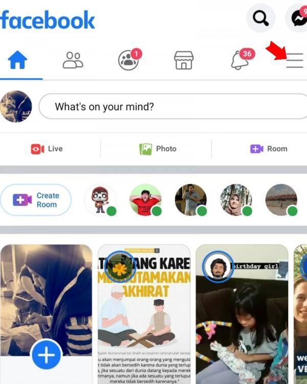 Cara Membuat Avatar Di Facebook Melalui Smartphone Popmama Com