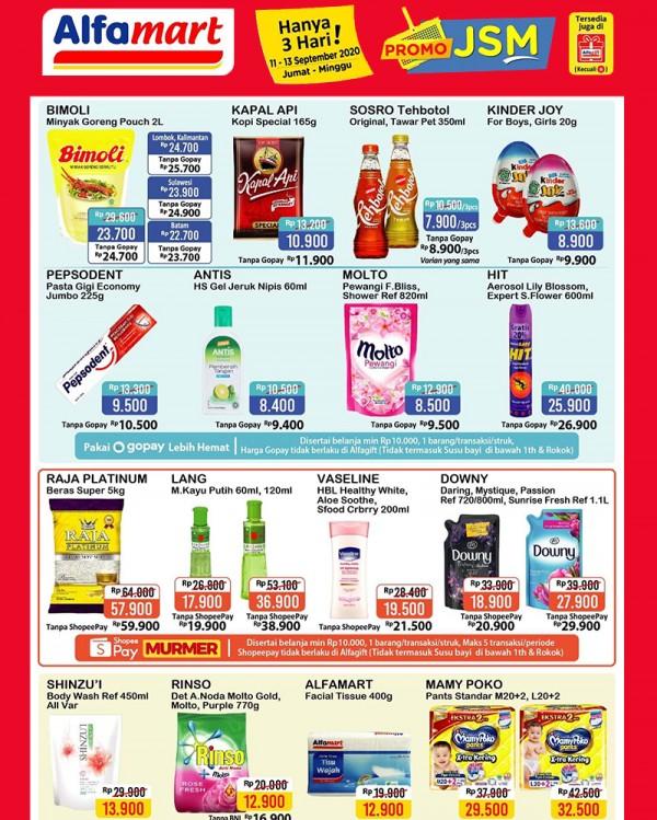 11 13 September 2020 Promo Jsm Alfamart Indomaret Dll Popmama Com