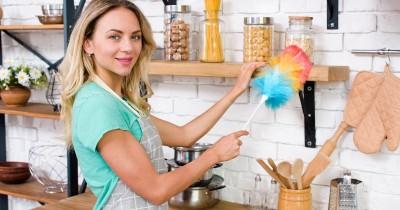 6 Tips agar Barang Rak Terbuka Dapur Tampak Rapi Bersih