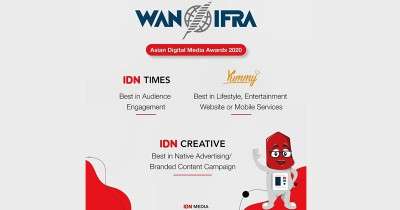 Terus Berkontribusi Positif, IDN Media Raih 3 Penghargaan di WAN-IFRA