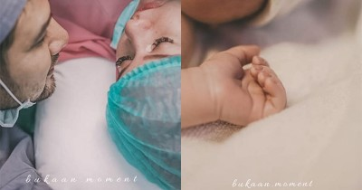 Anak Pertama Lahir, Irish Bella dan Ammar Zoni Resmi Menjadi Orangtua