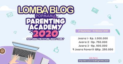 Ma Ikutan Yuk, Lomba Menulis Blog Popmama Parenting Academy 2020