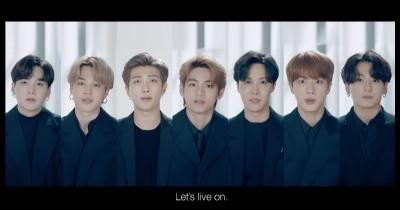 Bahas Kesehatan Mental, BTS Beri Semangat Lewat Pidato Menyentuh
