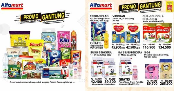 Promo Jsm Alfamart Dan Lainnya 25 27 September 2020 Popmama Com