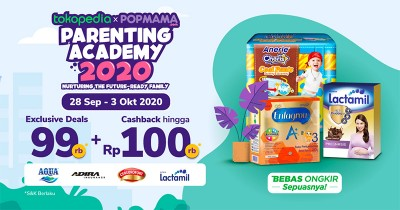 Popmama Exclusive Deals Hadir POPAC 2020, Belanja Jadi Lebih Murah