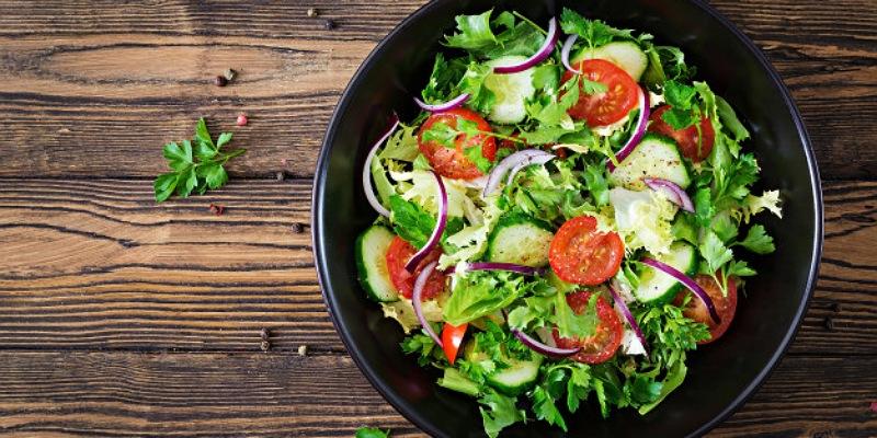 6. Makanan sehat