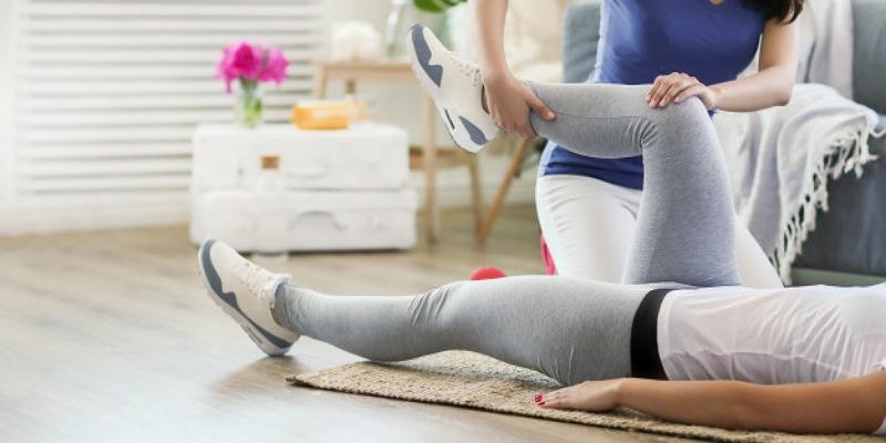 1. Cedera kaki terjadi selama berolahraga
