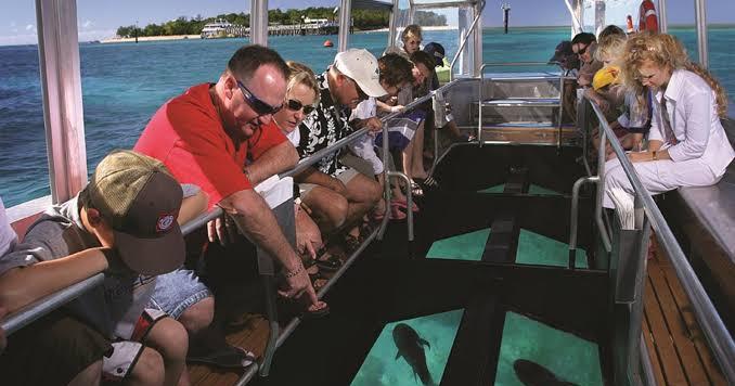 12. Glass Bottom Boat Tanjung Benoa