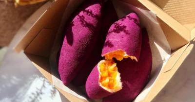 Resep Korean Sweet Potato Bread Sedang Viral