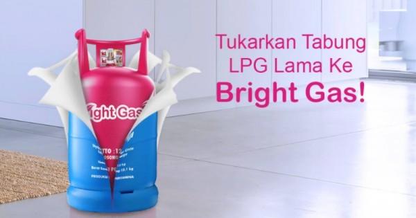 Pertamina Akan Tukar Tabung Elpiji 12 Kg Ke Bright Gas Popmama Com