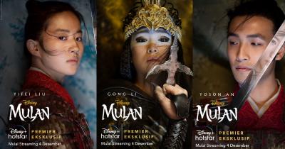 Disney Kabarkan 3 Artis Indonesia Pengisi Suara untuk Film Mulan