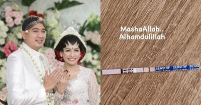 Sebulan Menikah, Tata Janeeta Umumkan Hamil Anak Raden Brotoseno