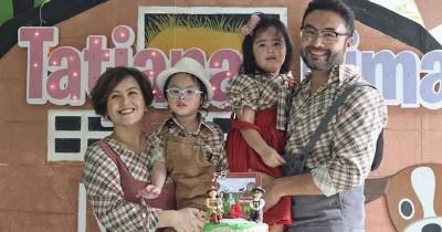Ulang Tahun Keempat, Anak Kembar Cynthia Lamusu Rilis Lagu Perdana