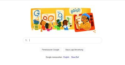 Sosok Pak Tino Sidin, Guru Gambar Legendaris Jadi Google Doodle