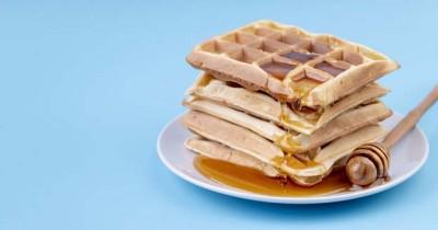 Resep dan Cara Membuat Waffle Almond untuk Menu Sarapan Sehat Anak