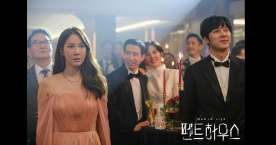 Tampak Stylish , Inilah Harga Outfit Lee Ji Ah The Penthouse