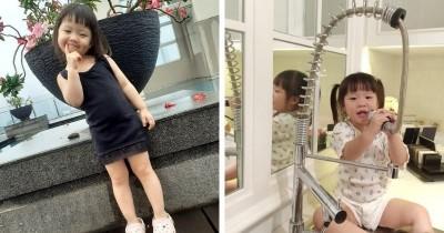 9 Potret Menggemaskan Kimora Hazel Anak Lee Jeong Hoon