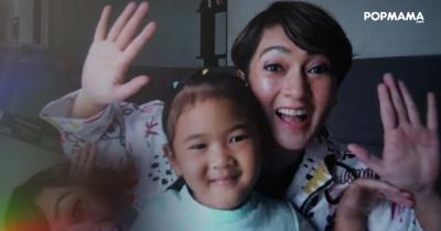 Masih 4 Tahun, Anak Hilyani Hidranto Dibiasakan Hidup Sehat Aktif Olahraga Sejak Kecil