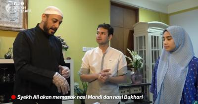 Masak Bareng Raffi Ahmad, Alm. Syekh Ali Jaber Beri Tips Olah Kambing