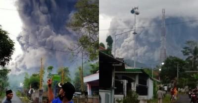 Gunung Semeru Meletus, BNPB Ingatkan Waspada Potensi Lahar Dingin