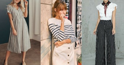7 Inspirasi Mix and Match Striped Shirt, Kasual tapi Tetap Stylish