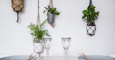 6 Ide Dekorasi Meletakkan Tanaman Gantung Rumah