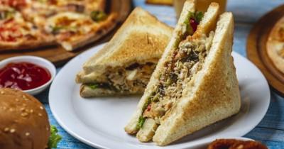 Resep Sandwich Ayam a la Restoran Cepat Saji Anak