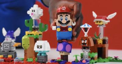 Mainan Anak Terbaru, LEGO Nintendo Luncurkan LEGO Super Mario