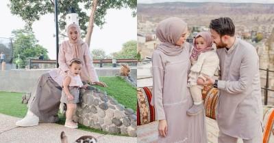 9 Inspirasi OOTD Kompak Mama-Anak Hamidah Rachmayanti Shireen