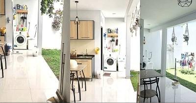 Inspirasi Rumah Luas Bangunan 65M Persegi, Dapur Terbuka Bikin Nyaman