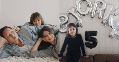 9 Potret Keluarga Ringgo Sabai saat Ulang Tahun Bjorka ke-5