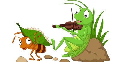 Dongeng Fabel Anak: Semut dan Jangkrik