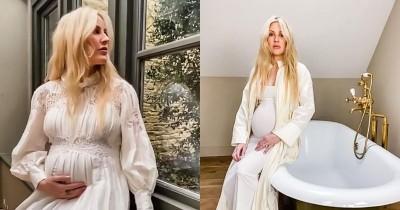 Diumumkan oleh Suami, Ellie Goulding Melahirkan Anak Pertama