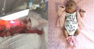 Haru, Bayi Prematur Lahir Sebesar Telapak Tangan Mampu Bertahan Hidup