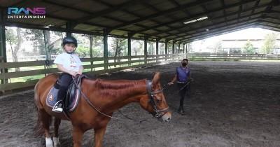 Anak Sultan Olahraga, Intip 10 Potret Keseruan Rafathar saat Berkuda