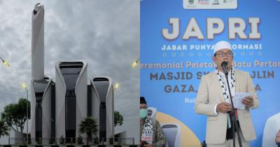 Viral Masjid Hasil Desain Ridwan Kamil Gaza Mirip PS5