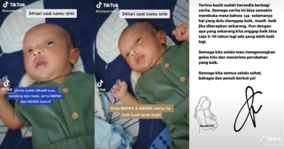 Viral di Media Sosial! Bayi 34 Hari Diberikan Susu Kambing dan Madu