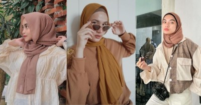 5 Ide Tampil Stylish dengan Hijab Pashmina Plisket yang Lagi Tren