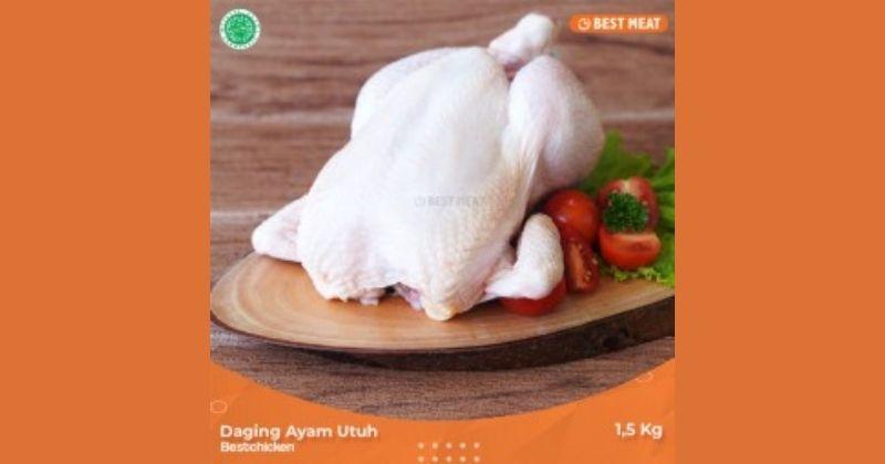 3. Ayam segar beku kualitas baik