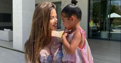 Intip Serunya Pesta Ulang Tahun ke-3 True, Putri Khloe Kardashian