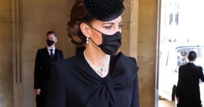 Tribut Manis Kalung Kate Middleton Pemakaman Pangeran Philip