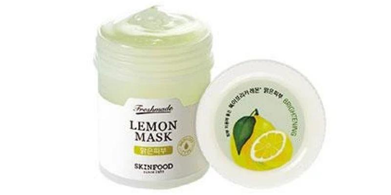 3. SkinfoodFreshmade Lemon Mask menenangkan