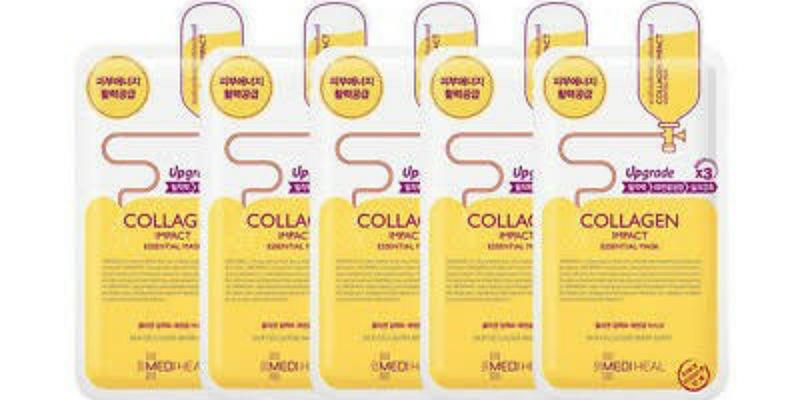 3. Mediheal Essential Mask Collagen Impact mengunci kelembapan